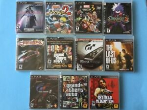 Ps3: Marvel Capcom - Final Fantasy - Need for Speed Carbon...