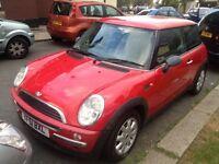 Mini one 2001. Mot. Tax. Perfect Drive