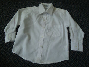 Boys Size 4 White Long Sleeve Dress Shirt Kingston Kingston Area image 1