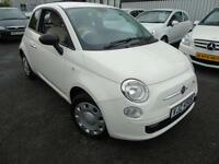 2013 Fiat 500 1.2 POP - White - LOW MILEAGE + Platinum Warranty!