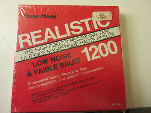 "Vintage Unopened Reel to Reel tape 1200 ft in 5"" (13cm) format"