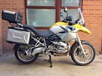 2006 -BMW R1200GS ABS FULL LUGGAGE - SAT NAV - 29K MILES - FULL SERVICE HISTORY