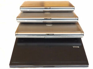 4 laptops to be used for parts
