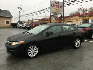 2012 Honda Civic EX   FREE 1 YEAR PREMIUM WARRANTY INCLUDED!