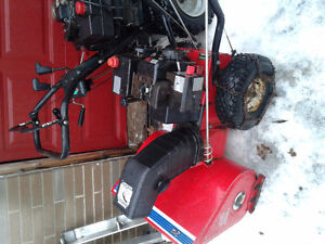 5hp/24 inch snowblower for sale great WORKIN Peterborough Peterborough Area image 1