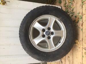 """16"""" Winter Tires and Mags Honda Hyundai"""