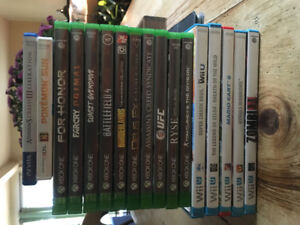 Selling Nintendo Wii U, 3DS, Xbox One, and PS Vita games!