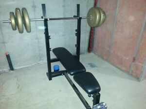 Weight Set and Bench