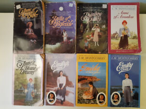 Set of 8 books - L.M. Montgomery - Anne of Green Gables