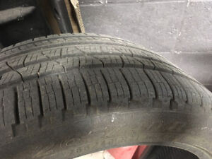 1 99%new all season tire for sale