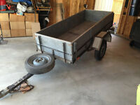 Homemade Tilting Utility Trailer