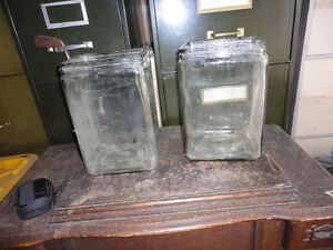 glass battery jars Regina Regina Area image 1