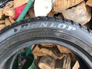 4 pneus/tires RUNFLAT 205/55/R16 Dunlop SP Winter Sport M3