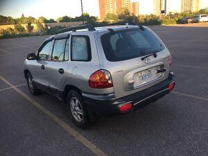 2002 Hyundai Santa Fe SUV, Crossover