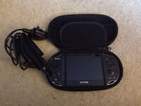 PS Vita + charger + case