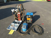 Welding Outfit- Miller AC/DC 230/150 amp + Oxygen Acetylene kit