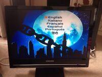 "Samsung 22"" LCD TV + Wharfedale Cinema System"