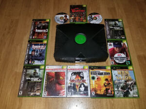 Original Xbox For Sale With Games Priced Separately