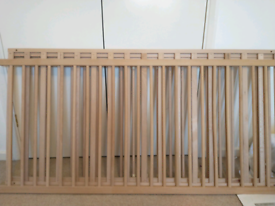 Hanna cot by Pinolino solid, untreated beech, converts into juniorbed
