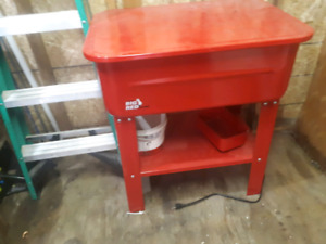 SOLD  20 gallon parts washer