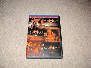 THE MUMMY/SCORPION KING DVDS SET FOR SALE!