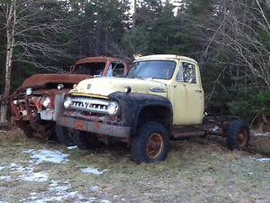 Special old trucks
