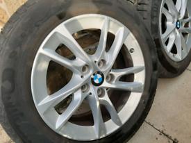 Genuine BMW 2 series Active/Gran tourer winter wheels