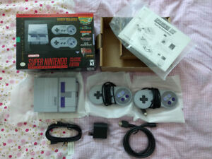 SNES Classic Edition (Official version, unmodded)
