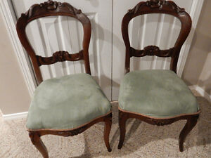 Antique Dining Room Chairs (x4)