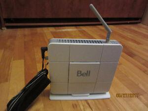 Router modem bell