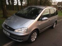 2003 Ford Galaxy 1.9 Zetec TDDI-1 lady owner-full history-7 seats-November 18 mot-exceptional value