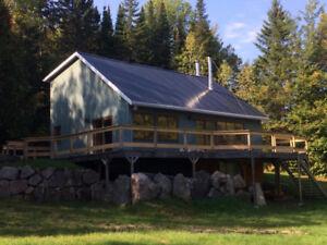 Maison Au lac a beauce au pied du lac
