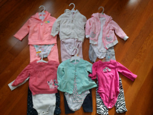Girls 12 Mon Carter's Outfits