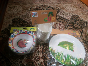 The very hungry  Caterpillar  theme birthday  party  stuff