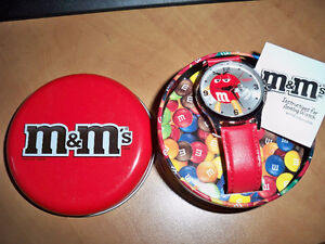 M&M'S RED WATCH NEW IN TIN Stratford Kitchener Area image 1
