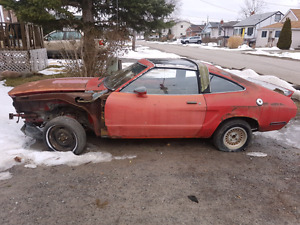 PARTING OUT! 1978 MUSTANG KING COBRA