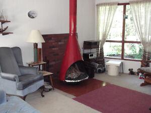 Retro Vintage Cone Fireplace