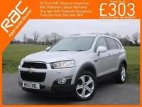 2013 Chevrolet Captiva 2.2 VCDI Turbo Diesel LTZ 6 Speed 4x4 7-Seater Sat Nav Re