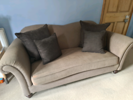 2 x Barker and Stonehouse 3 seat sofa