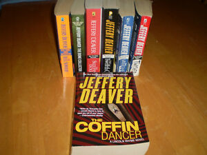 JEFFERY DEAVER BOOKS Windsor Region Ontario image 1