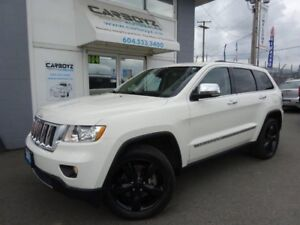 2012 Jeep Grand Cherokee Overland 4WD 5.7L V8, Nav, Pano Roof, L