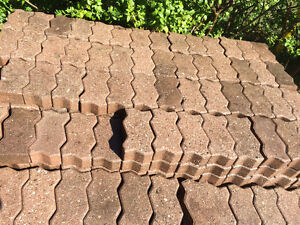 "INTERLOCK PATIO BRICK  24 cm X 12 cm (8 1/2""X 4 3/4"")"