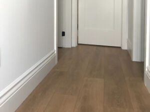 Laminate Flooring - Canadian Oak
