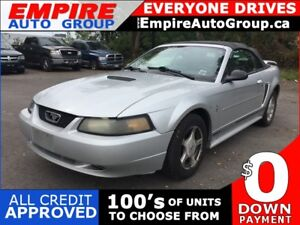 2001 FORD MUSTANG CONVERTABLE * LEATHER