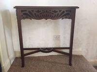 Hall table £55
