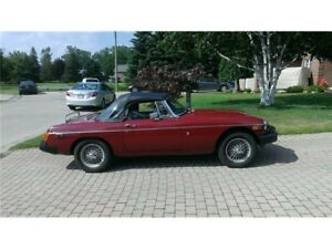1978 MGB Great Condition