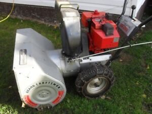 """RECYCLE:  BUYING old Snowblowers """" I pay you cash """""""