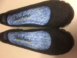Women's black dressy sketchers