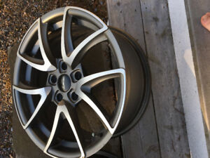 Set of 4 Fast Alloy Wheels