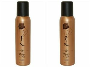 W7 tights in a tin airbrush legs Deep Glow 125ml (pack of 2)